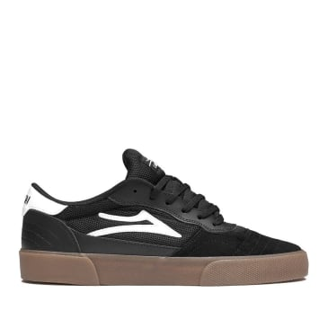 Lakai Cambridge Suede Skate Shoes - Black / Gum