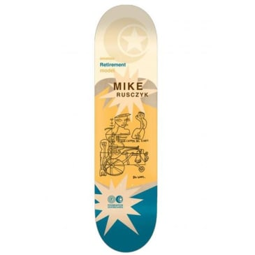 Foundation Mike Rusczyk Retirement 30 Years Skateboard Deck - 8.25