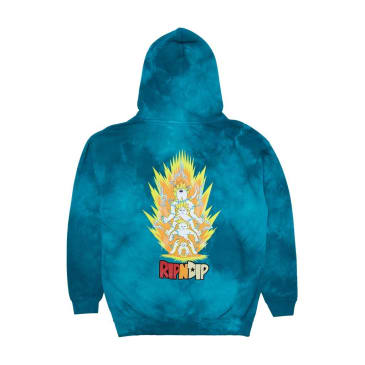 Rip N Dip Super Sainerm Hoodie - Blue Acid Wash