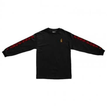Passport Roach Cans Long Sleeve T-Shirt - Black