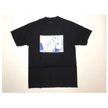 QUASI SPOON T-SHIRT - BLACK