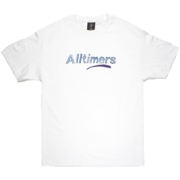 Alltimers Estate Watercolour T-Shirt - White