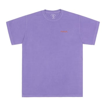 The Good Company - Chill Wave Tee - Violet/Orange