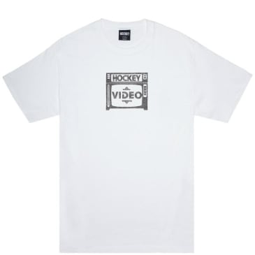 Hockey Budget Video T-Shirt - White
