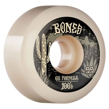 Bones Wheels Desert Skull V5 Sidecut OG 100a 55mm