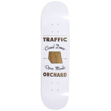 """Traffic X Orchard Skrelly Collab Deck White 8.0"""""""