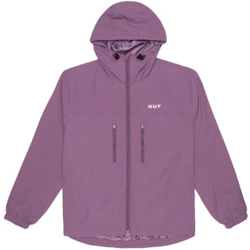 Huf - Essentials Zip Standard Shell Jacket - Vintage Violet