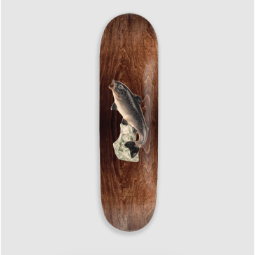"Pass Port Skateboards - 8.25"" Treasury Of Kitsch Trout Deck"