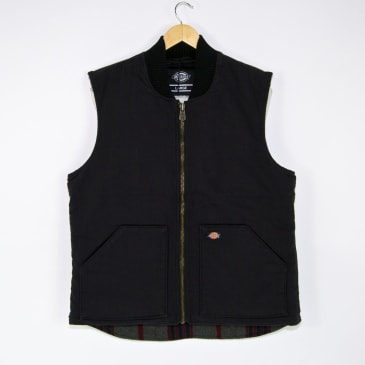 Dickies - Lawrenceburg Vest Jacket - Black