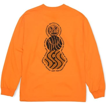 Quartersnacks Snackman Flyer Long Sleeve T-Shirt - Orange