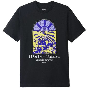 Butter Goods Mother Nature T-Shirt - Black