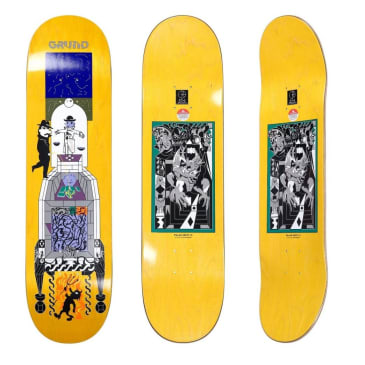 Polar Paul Grund Legacy Skateboard Deck - 8.5""