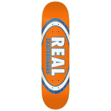 Real - Jafin Am Edition Oval FULL SE - Blue/Orange - 8.25""