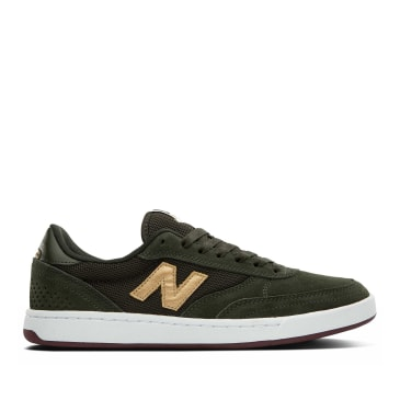 New Balance Numeric 440 Shoes - Olive / Gold