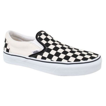 Vans Slip On Checkerboard (Black/White)