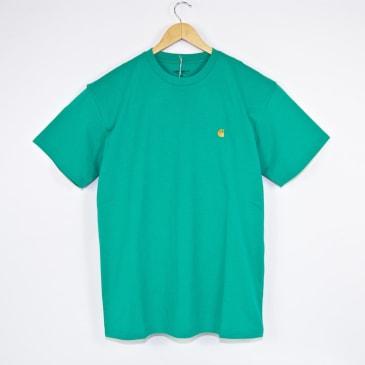 Carhartt WIP - Chase T-Shirt - Yoda / Gold