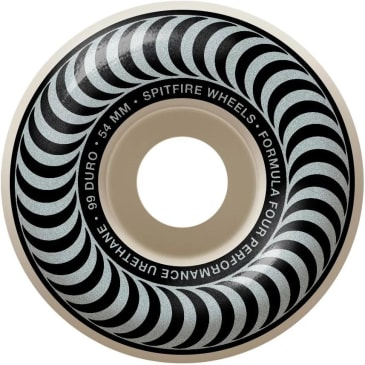 Spitfire - F4 99a Classic Swirl 54mm White/Silver Wheels