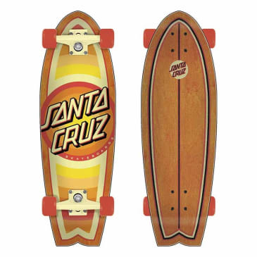 Santa Cruz Gleam Dot 8.8 x 27.7 Shark Cruzer Complete