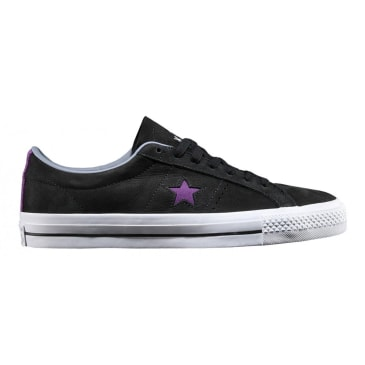CONVERSE ONE STAR PRO - DINOSAUR JR BLACK PURPLE WHITE