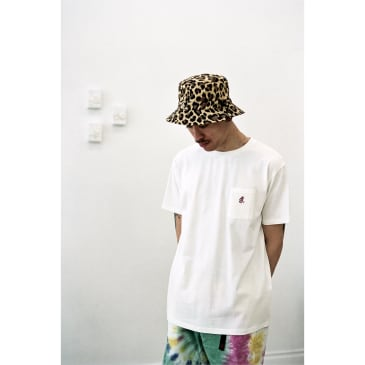 One Point Tee Cotton Jersey White