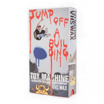 Toy Machine Jump Off A Building VHS Wax - Red