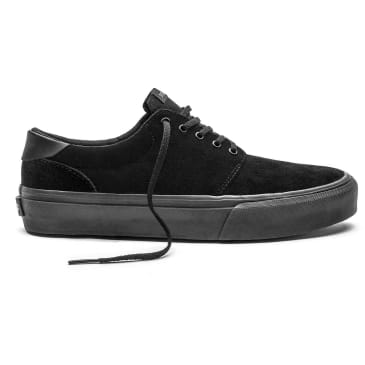 Straye Skate Shoes - Straye Fairfax Suede | Black
