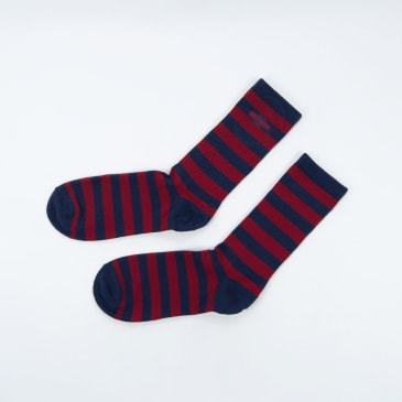 Independent - Grab Socks - Navy / Red