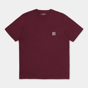 Carhartt WIP Pocket T-Shirt - Bordeaux