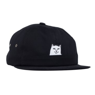 Rip N Dip Lord Nermal 6 Panel Pocket Hat - Black