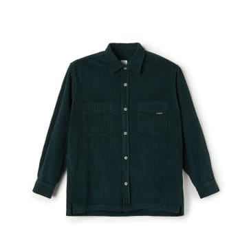 Polar Skate Co Cord Shirt - Dark Green