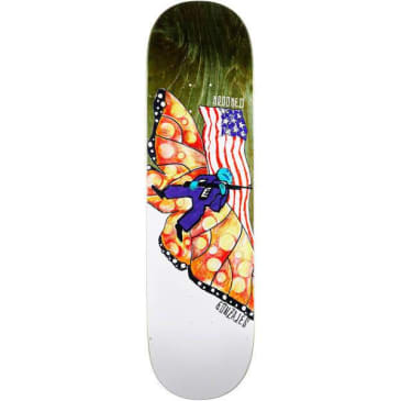 KROOKED GONZ DON'T TRED DECK - 8.75