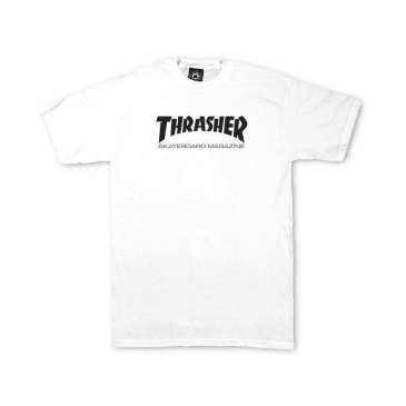THRASHER Kid's Skate Mag Tee White