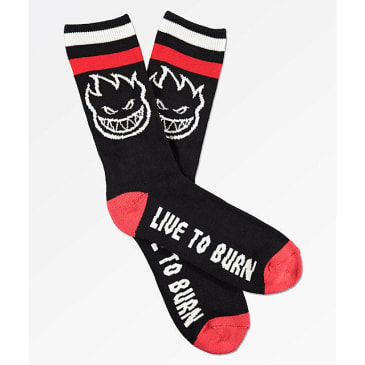 Spitfire Bighead Socks (Black/ Red/ White)