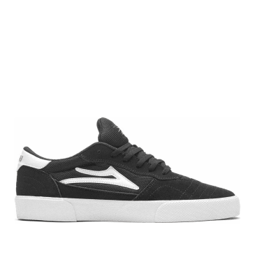 Lakai Cambridge Suede Skate Shoes - Black / White