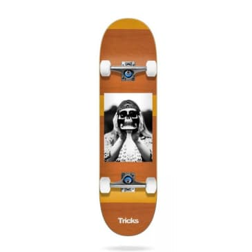 Tricks Hippie Complete Skateboard - 8.00