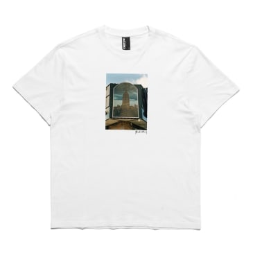Chrystie NYC Empire State Building Quentin De Briey Photo T-Shirt - White