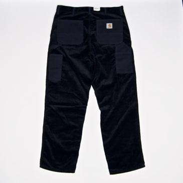 Carhartt WIP - Single Knee Corduroy Pant - Dark Navy (Rinsed)
