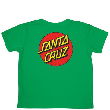 Santa Cruz Toddler Classic Dot T-Shirt - Kelly Green