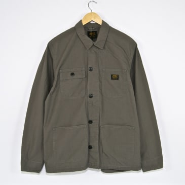 Carhartt WIP - Michigan Coat - Air Force Grey (Rinsed)