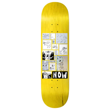 Shake Junt Be Here Now Skateboard Deck W/ Tote Bag - 8.25