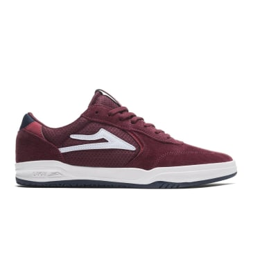 Lakai Atlantic Suede Skate Shoes - Burgundy