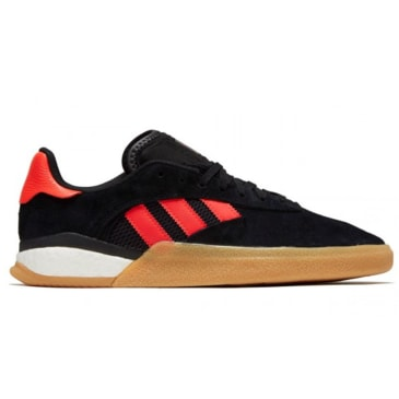 Adidas 3St.004 - Black / Solar Red