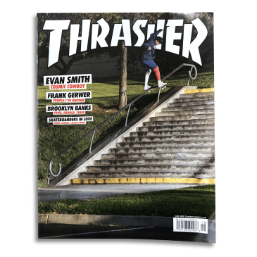 Thrasher Magazine Aug 2020