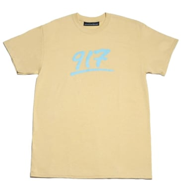 Call Me 917 Godfather T-Shirt - Creme