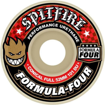 Spitfire Wheels F4 Conical Full 101 53mm