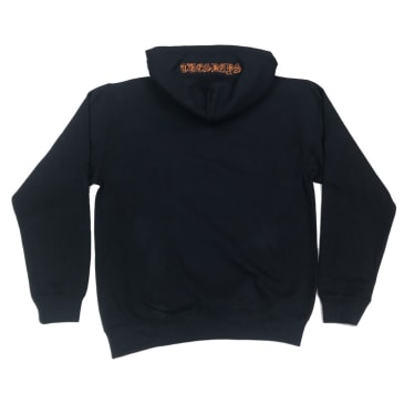 Tuesdays 'Ye Olde' Embroidered Hood Navy/Safety Orange