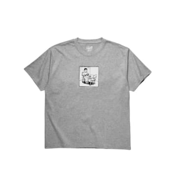Polar Skate Co. Spoiled Milk T-Shirt Grey