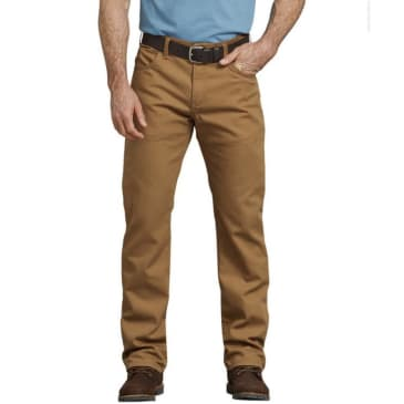 Dickies Regular Fit Straight Leg Tough Max™ Duck 5-Pocket Pants
