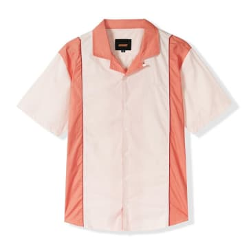 Butter Goods Cadwell Shirt - Cream-Peach