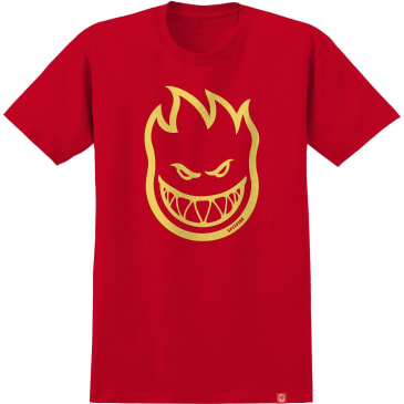 SPITFIRE Youth Bighead Tee Red/Yellow